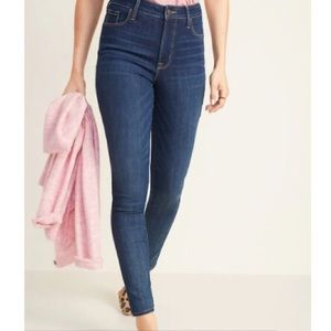 Old Navy Womens High-Waisted Rockstar Skinny Jeans